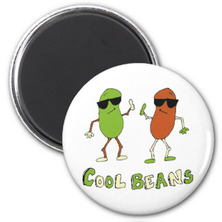 Cool Beans 2 Inch Round Magnet