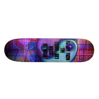 cool beans, Dj Jeff from The Liquid_Sky Music N... Skate Decks