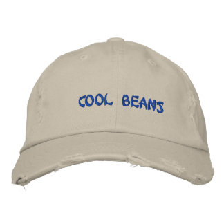 CooL BeanS Embroidered Baseball Cap