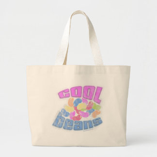 Cool Beans Faded Large Tote Bag
