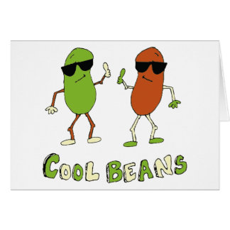 Cool Beans Greeting Card