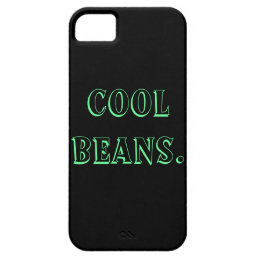Cool Beans iPhone 5 Case iPhone 5s Case