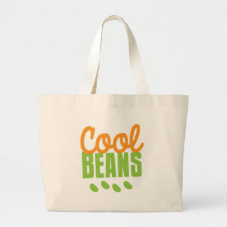 cool beans large tote bag