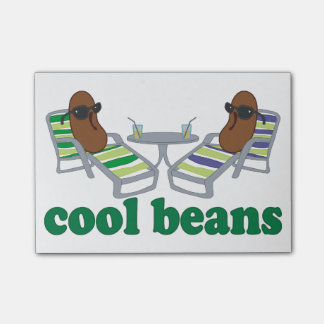 Cool Beans Post-it Notes