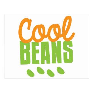 cool beans postcard