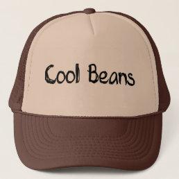 Cool Beans Trucker Hat