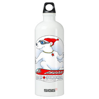 Cool Bear Aluminum Water Bottle