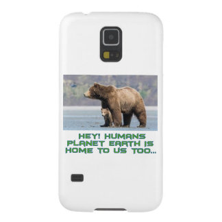 cool Bear designs Galaxy S5 Case
