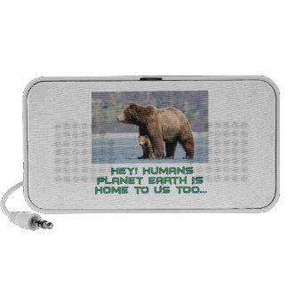 cool Bear designs Laptop Speaker