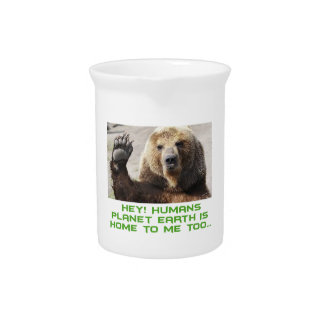 cool bear designs drink pitchers