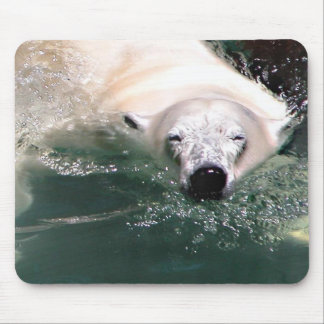 Cool bear mouse pad