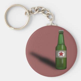 Cool Beer Bottle Design Keychain
