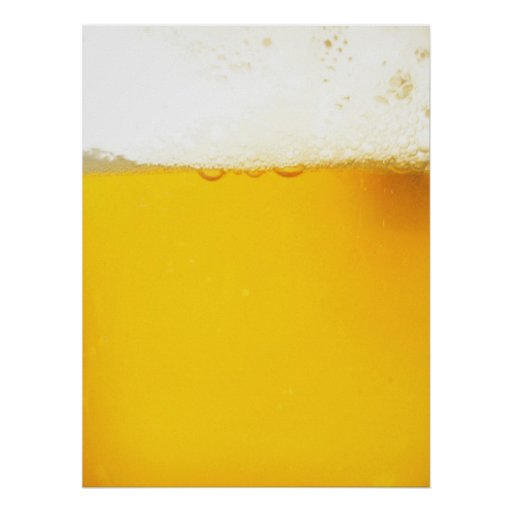Cool Beer Poster