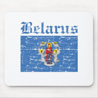 Cool belarus city flag designs mouse pad