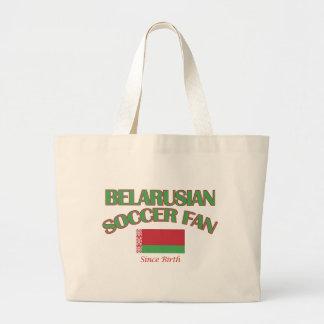 cool BELARUSIAN soccer fan DESIGNS Large Tote Bag