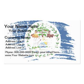 Cool Belizean flag design Business Card