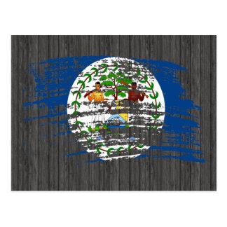 Cool Belizean flag design Postcard