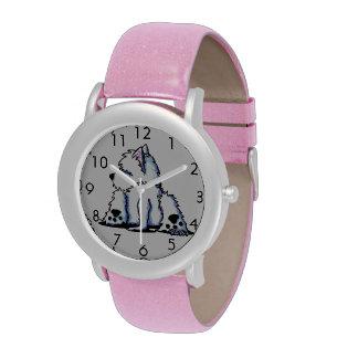 Cool Belly Westie Wrist Watch