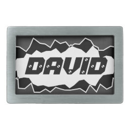 Cool belt buckle for men with personalized name