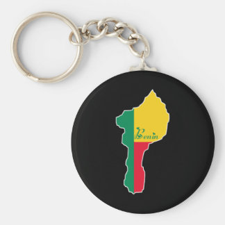 Cool Benin Keychain