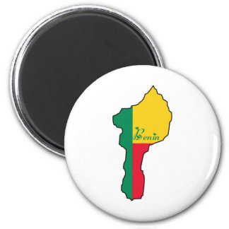 Cool Benin Refrigerator Magnet
