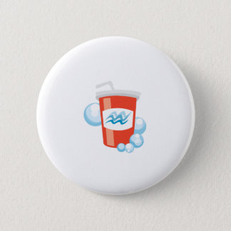 Cool Beverage Pinback Button