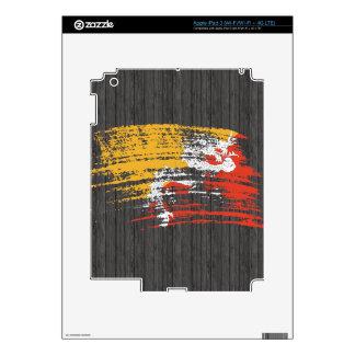 Cool Bhutanese flag design Decal For iPad 3