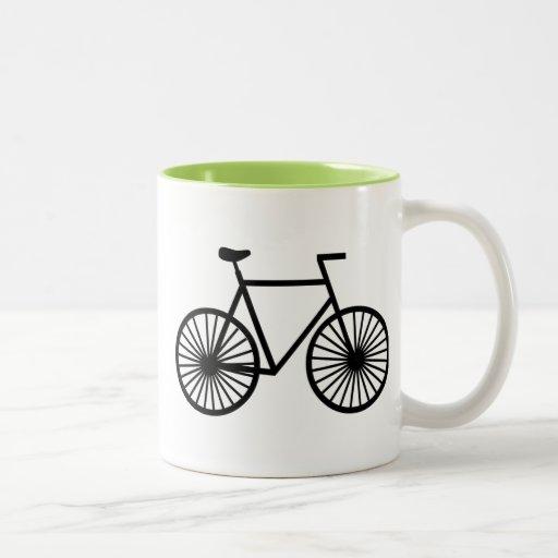 Cool Bicycle Two Tone Coffee Mug Zazzle