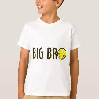 Cool Big Bro Brother Shirt - Tennis Theme