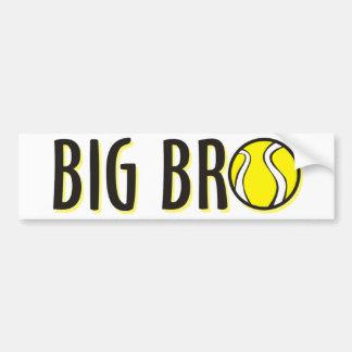 Cool Big Bro Brother Shirt - Tennis Theme Bumper Sticker