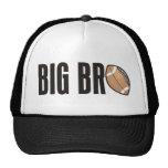 Cool Big Bro Shirt - Football Theme Hats