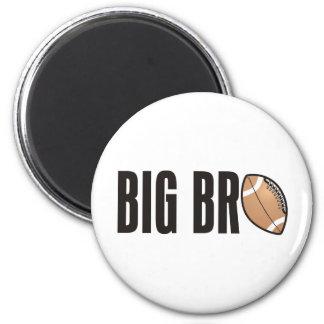 Cool Big Bro Shirt - Football Theme Refrigerator Magnets