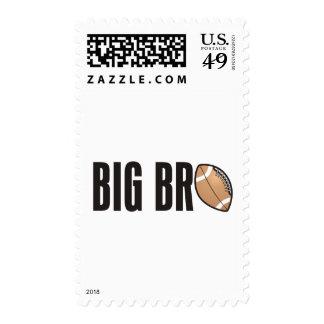 Cool Big Bro Shirt - Football Theme Postage