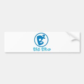 Cool Big Bro Shirt & More! Bumper Sticker