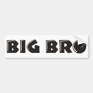 Cool Big Brother Shirt - Bowling Theme Bumper Sticker