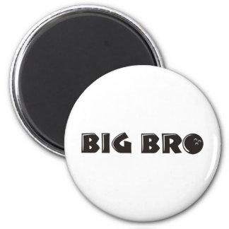 Cool Big Brother Shirt - Bowling Theme Refrigerator Magnet