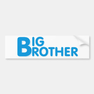 Cool Big Brother Shirt Bumper Sticker