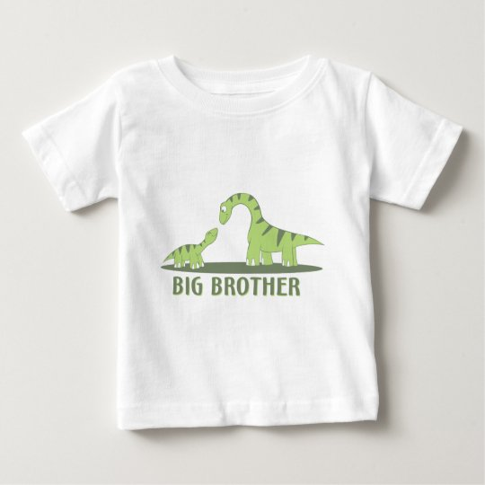 Cool Big Brother Shirt - Dinosaur Theme