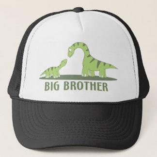 Cool Big Brother Shirt - Dinosaur Theme Trucker Hat