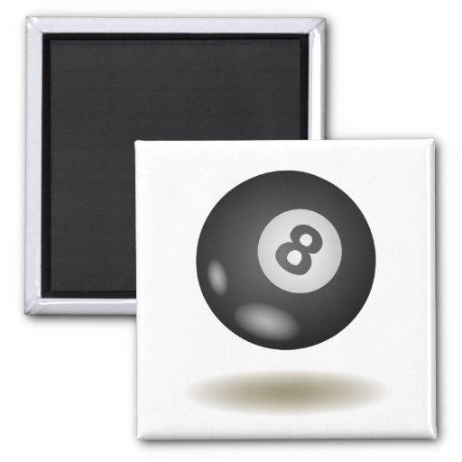Cool Billiard Emblem Fridge Magnet