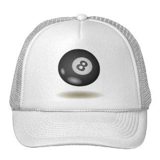 Cool Billiard Emblem Trucker Hat