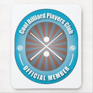 Cool Billiard Players Club Mouse Pad