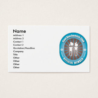 Cool Biochemists Club Business Card
