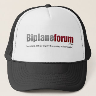 Cool biplane forum cap