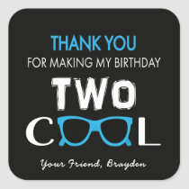 Cool Birthday Thank You Stickers