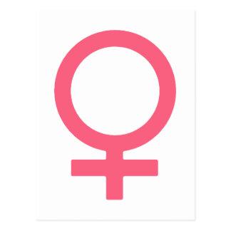 Cool Bittersweet Venus Symbol Postcard