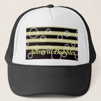 Cool Black and Gold Stripes Pattern Multi Product Trucker Hat