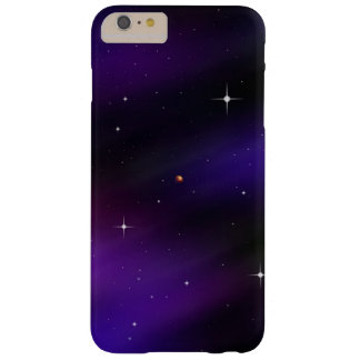Cool Black and Purple Spacescape Art Barely There iPhone 6 Plus Case