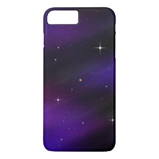Cool Black and Purple Spacescape Art iPhone 8 Plus/7 Plus Case