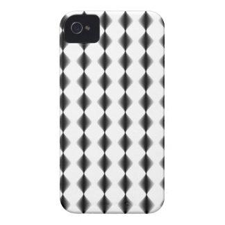 Cool Black-and-White Argyle Diamond Pattern iPhone 4 Case